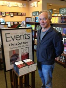 Chris DeFazio B&N Event May 8, 2014