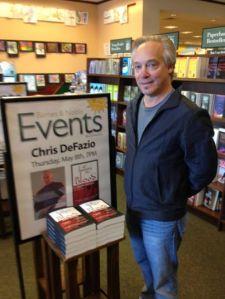 Chris DeFazio B&N Event May 8, 2014