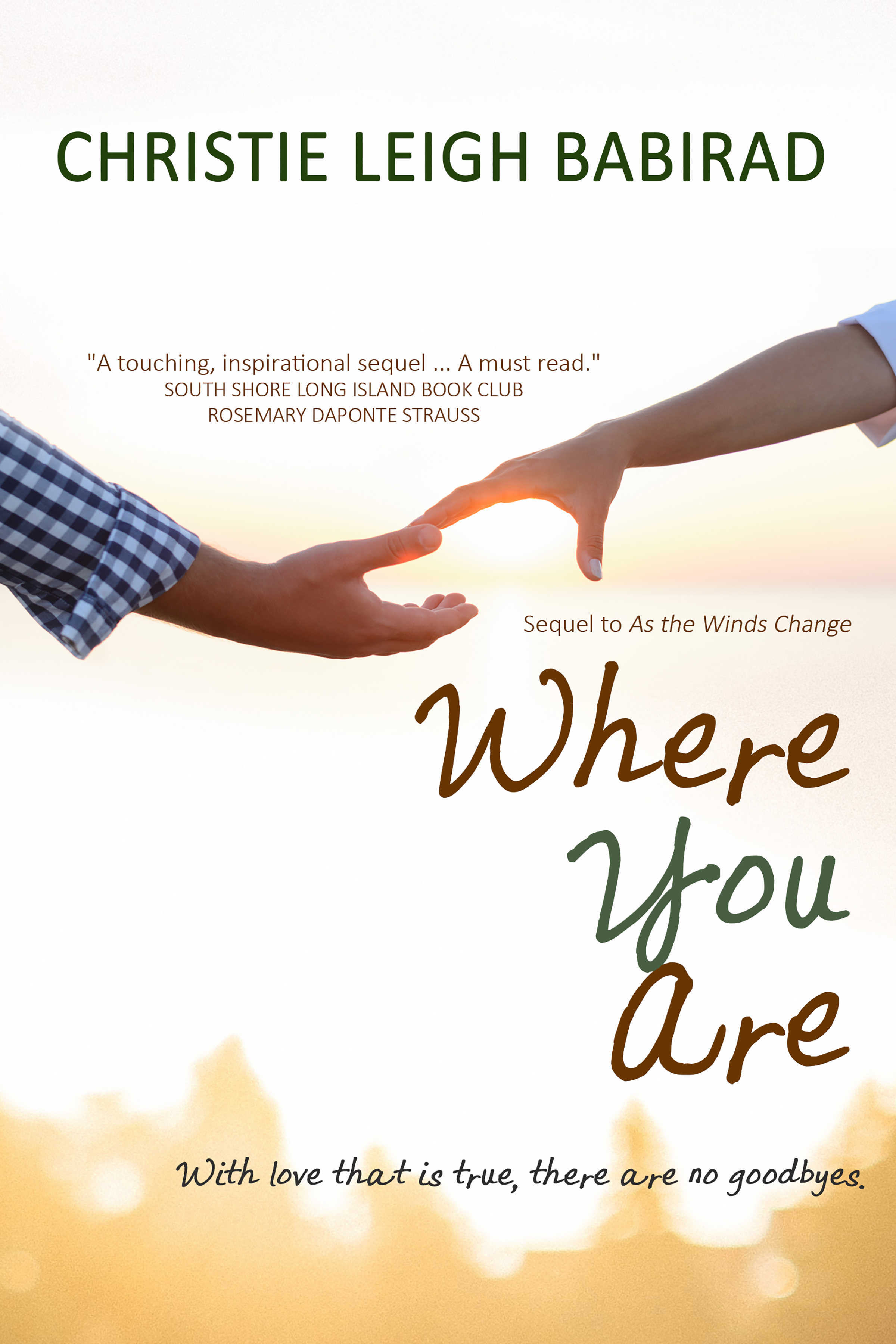 Where You Are_6x9 paperback_FRONT